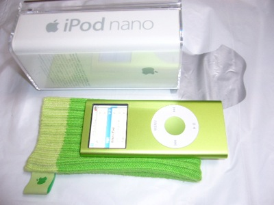 New iPod nano and iPod socks