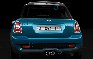 R56 MINI CooperS Rear section